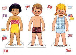 kağıt bebekler 9