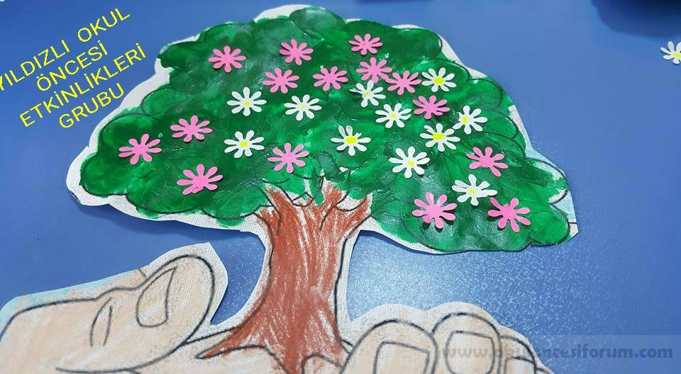 Her şey Elimizde Orman Haftası Etkinliği Okul öncesi Etkinlikleri