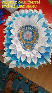 polis haftası çelenk-şapka (1)