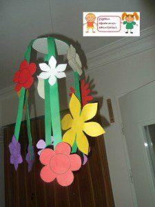 çiçekli sarkaç mobil4