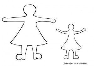 üç boyutlu anneler günü kartı kalıp 2