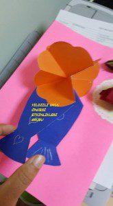 kart anneler günü çiçek kalıbı (2)