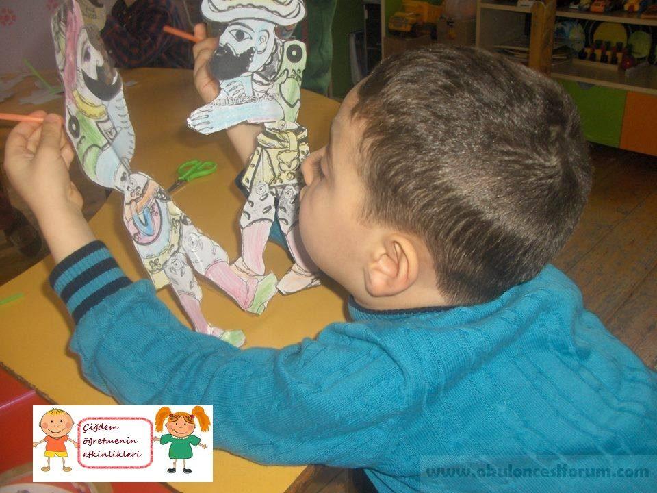 Karagöz Ve Hacivat Kuklalarımız Okul öncesi Etkinlikleri