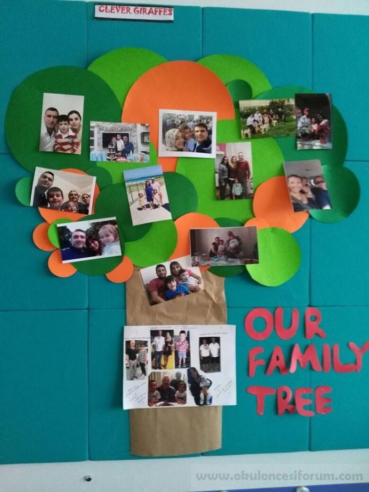 Aile Ağacı Okul öncesi Etkinlikleri
