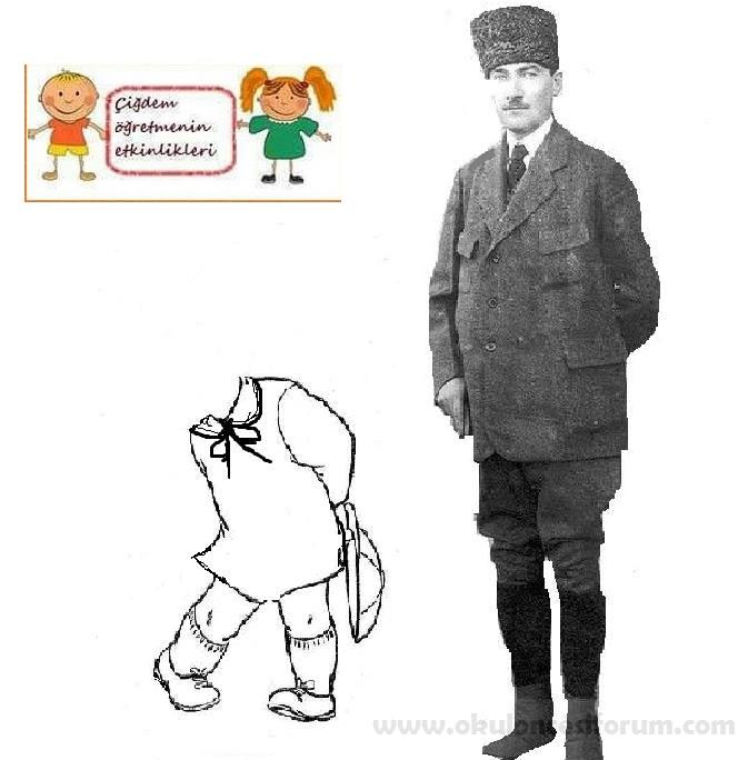 Atatürkle Bayramımıza Gelen çocukları Karşılıyoruz Okul öncesi