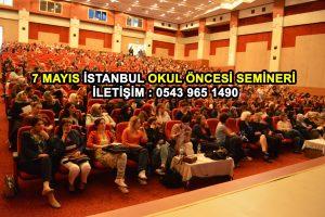 istanbul okul öncesi semineri