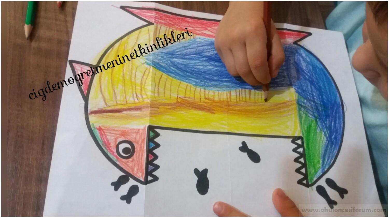 Ağzını Kocaman Açan Balık Okul öncesi Etkinlikleri