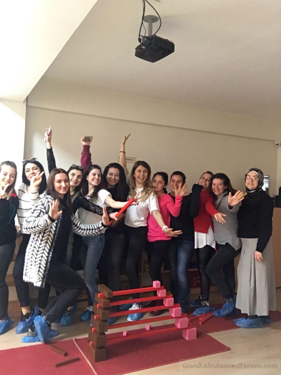 4 Mart İzmir Montessori Eğitmen Eğitimi