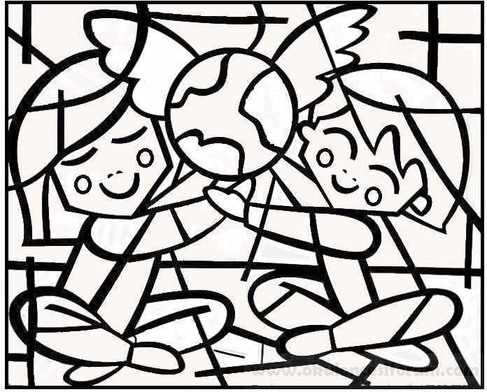 Romero Britto Sanatsal Boyama Sayfaları Okul öncesi Etkinlikleri