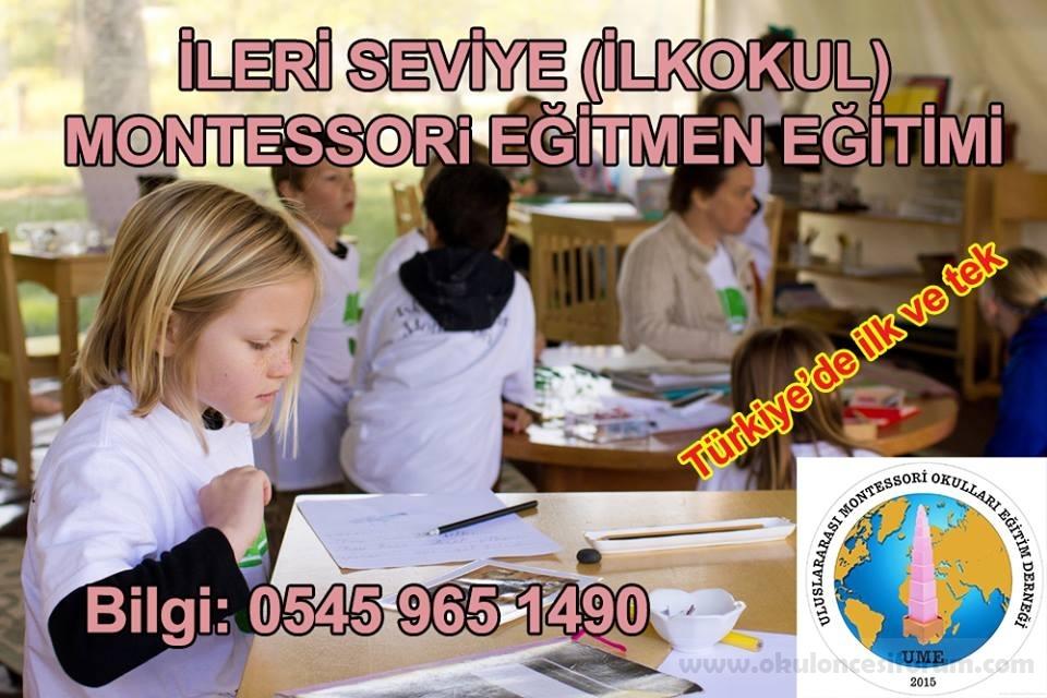 ilkokul montessori eğitmen eğitimi