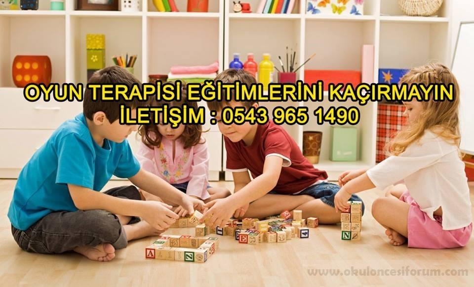 oyun terapisi Semineri