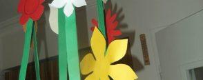 Çiçekli sarkaç mobiller