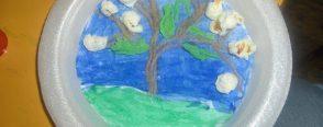 Kağıt Tabaktan Ağaç  Panomuz