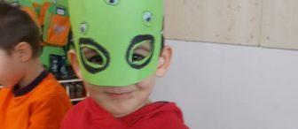 """Uzaylı maskelerimiz :) """"Kalıplı ve oyunlu"""""""