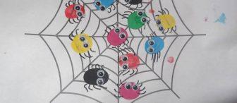 """Minik örümceklerimiz ağlara tırmanıyor… """"Kalıplı"""""""