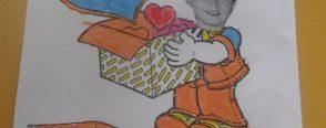Annemize sevgi dolu bir kutu hediye… :)