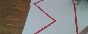 Çizgi çalışmalarına eğlenceli ön hazırlıklar :)