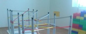 Kesme çalışmaları ve örümcek ağı oyunu :)