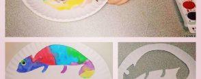 Renk değiştiren bukalemunlar :)