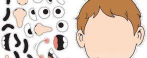 Okul öncesi eğitimde eğitici oyuncak yüzdeki organlar