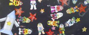 Astronotlar geldi…!