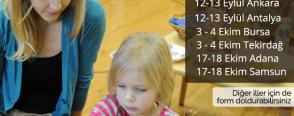 Montessori seminerlerini kaçırmayın Eylül-Ekim dönemi