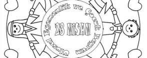 23 Nisan Mandala Boyama Sayfaları Arşivleri Okul öncesi Etkinlikleri