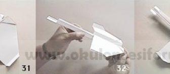Kağıt uçak yapımı