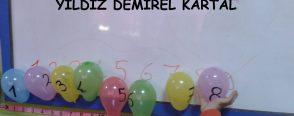 Balon deneyi ile matematik, şekil,renk kavramı etkinliği