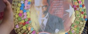 Mandallardan Atatürk Çerçevesi