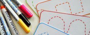 Okul öncesi çizgi çalışmaları kart örnekleri ve daha fazlası