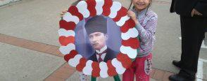 Atatürk Haftası için Çelenk yapımı etkinliği
