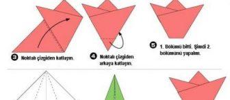 BİR SÜRÜ ORİGAMİ :)