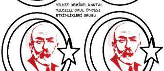 İstiklal Marşımızın Kabulü ve Mehmet Akif Ersoy' u Anma haftası etkinlik örneği