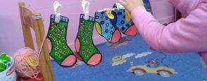 Okul öncesi eğitimde çoraplarla matematik etkinliği