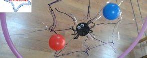 Örümcek ağı ile matematik etkinliği oyunu