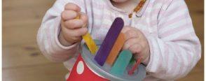 Motor becerileri için bebek oyuncakları