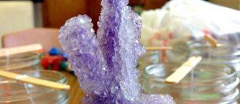 Kristal Kar taneleri deneyi