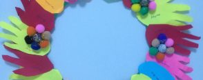 Okul öncesi eğitimde Daire – çember farkı ile çelenk yapımı etkinliği