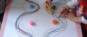 Dalgalı çizgiyi oyun ile öğrenme
