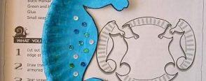 Deniz atı, kağıt tabaktan