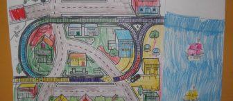 Karton şehrimizde taşıtlar ve trafik
