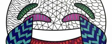 Emoji Boyama Sayfaları