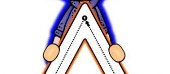 Farklı geometrik şekillerle çizgi çalışması