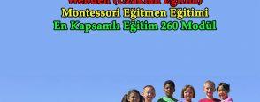 Uzaktan Eğitim – Montessori Eğitmen Eğitimi
