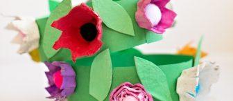 23 Nisan için çiçekli taçlar yapalım :)