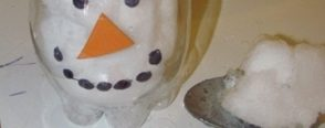 Şişe içinde kardan adam deneyi :)