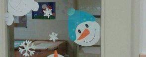 Kış mevsimi pencere süsleri :)
