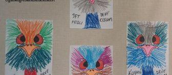 "Koşucu Deve Kuşu  ""Emu"""