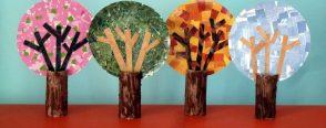 Mevsim ağaçları yapalım